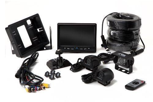 Backup-Camera-System-with-Side-Cameras-and-Quad-View-Monitor-for-RVs-Trucks-and-Buses