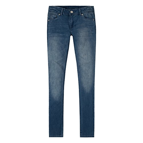 Levi's Girls' 711 Skinny Fit Jeans , Blue Winds, 12.5 Plus -