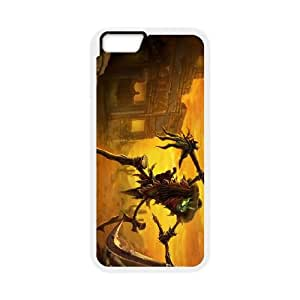 League of Legends(LOL) Fiddlesticks iPhone 6 Plus 5.5 Inch Cell Phone Case White DIY Gift pxf005-3694857