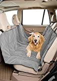 Cheap DuraGear Pet Travel Hammock Dog Car Seat Cover- Microvelvet Slate