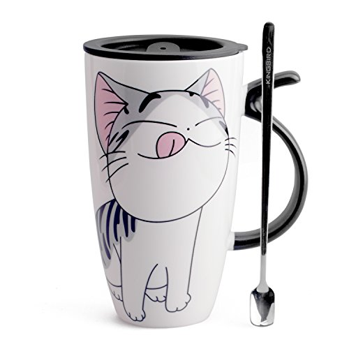 cute mug cup with lid - 3
