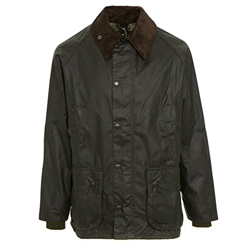 Barbour Men's Bedale Wax Jacket (40, Sage) Barbour Fleece Jacket