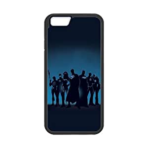 iPhone 6 Plus 5.5 Inch Cell Phone Case Black Super Heroes OJ438861