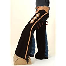 Tough 1 Suede Leather Reining Show Chaps