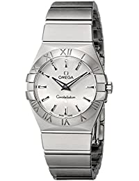 Womens 123.10.27.60.02.001 Constellation Silver Dial Watch
