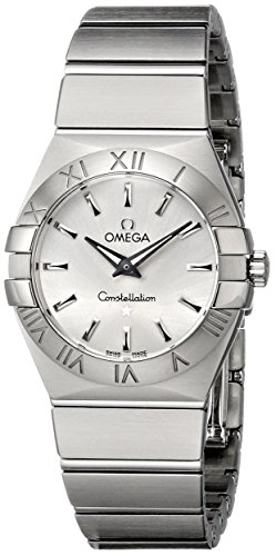 Omega Womens 123.10.27.60.02.001 Constellation Silver Dial Watch