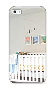 New Design Shatterproof NxgCcls3879FQeWw Case For Iphone 5c (neutral Nursery With White Crib) by icecream design