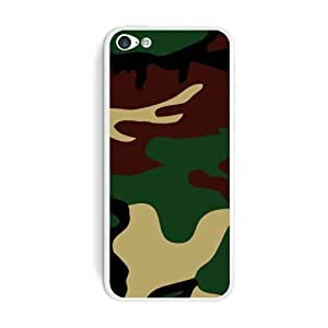 Graphics and More Camouflage Army Soldier Protective Skin Sticker Case for Apple iPhone 6 4.7 - Set of 2 - Non-Retail Packaging - Opaque WANGJING JINDA