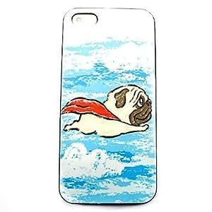 JJE Animal Dog Pattern Hard Case for iPhone 5/5S