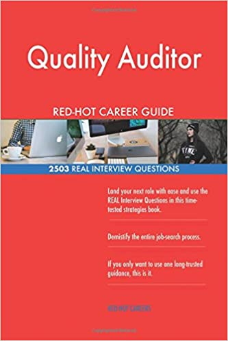 Quality Auditor RED-HOT Career Guide