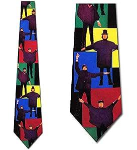 Beatles ayuda corbatas verticales para hombre corbata: Amazon.es ...