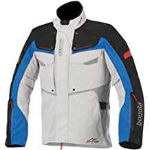 Alpinestars Bogota Drystar Jacket, Gender: Mens/Unisex, Primary Color: Gray, Size: 2XL, Apparel Material: Textile, Distinct Name: Gray/Black/Blue/Red 3207015-9217-2X