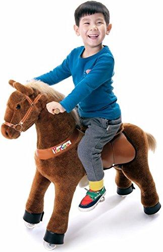 Ponycycle Toy Ride on Pony Horse Beige Medium