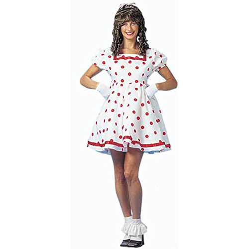 Adult Shirley Temple Costume, Size Small 5-7