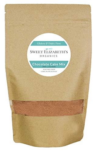 (Organic, Gluten Free Chocolate Cake Mix, Vegan, Gluten & Dairy Free )
