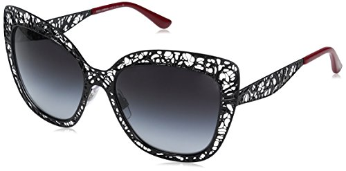 Dolce & Gabbana Women's Metal Woman Square Sunglasses, Black, 56 - Eyewear Lace And Gabbana Dolce