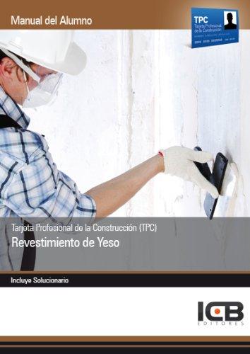 Tarjeta Profesional de la Construcción TPC . Revestimiento de Yeso ...