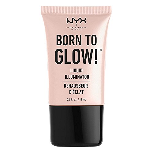 (NYX Professional Makeup Born to Glow Liquid Illuminator,  0.6 oz)