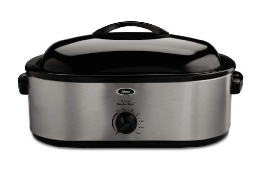 Beach 18 Qt Roaster Oven (Oster Roaster Oven with Self-Basting Lid, 18-Quart)
