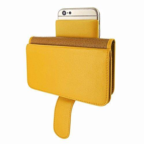 Piel Frama 678Y PIELFRAMA 678Y Wallet Case für Apple iPhone 6 in gelb