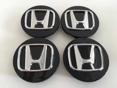 Honda Rims Ridgeline (Gosweet Set of 4 Replacement Wheel Centre Center Rim Hub Caps 69mm Fit For Honda Accord, Odyssey, Pilot, CR-V, Ridgeline, Element, Crosstour, CR-Z ,Wheel Hub Caps)