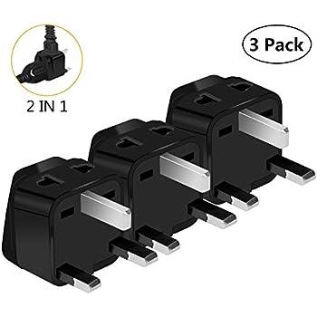 Type G Outlet Travel Power Adapter Plug For UK Ireland London Hong Kong Scotland England Dublin Singapore
