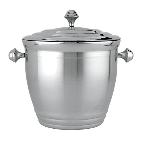 Lenox Tuscany Classics Ice Bucket This Ice Bucket Is Crafted Of Stainless Steel, With The Luster Of Silver