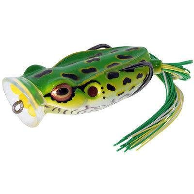 River2sea Spittin Wa Frog Leopard  9 16 Ounce  Green Black