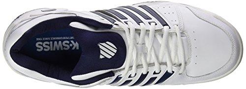 navy Accomplish K De Ltr Homme Omni white Blanc 167 swiss silver Performance Chaussures Tennis qUUAwfHgP
