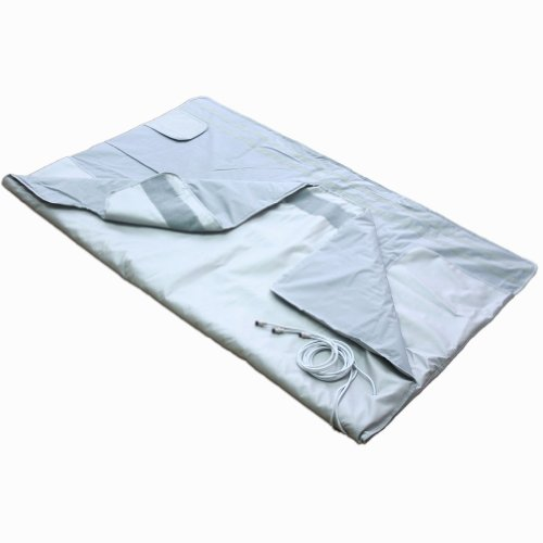 Gizmo Supply 4019b Sauna Blanket 3 Zone Detox Fir Far Infared Folding Therapy Equipment (Far Infrared Sauna Therapy)