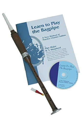 - Roosebeck BAGL Sheesham Practice Chanter With Book and CD