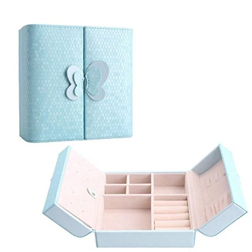 Garrelett Women Jewelry Box Organizer Leather Jewelry Storage Case Holder with Stealth Magnet for Holding Rings Earrings Necklace Bracelet Pendant - Make Own Your Costume Harry Potter
