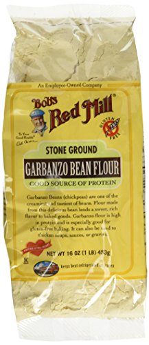 Garbanzo Bean Flour, Gluten Free, Bob's Red Mill - 2 / 16 Oz. Bags - Flour Garbanzo