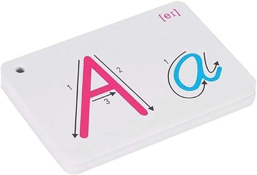 Simplelife Early Learning Abc Lettre Anglais Carte Alphabet