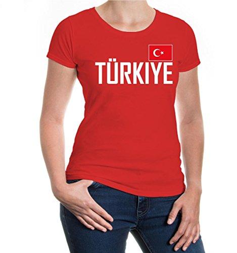 buXsbaum Girlie T-Shirt Turquia Red