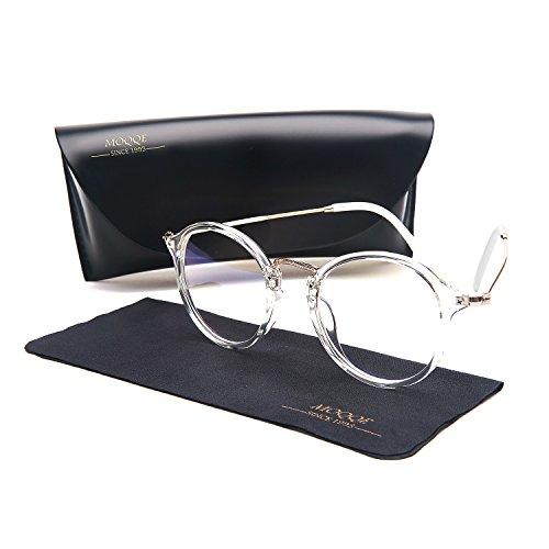Eyewear Frames Eyeglasses Optical Frame Round Fashion Clear Lens Glasses For - Reading Glasses Trendy