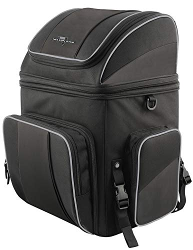 (Nelson-Rigg NR-220 Route 1 Getaway Backrest Rack Bag)