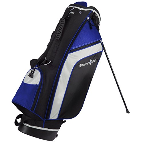 PowerBilt Santa Rosa Black/Blue Stand Golf Bag (Black/Blue) by PowerBilt (Image #1)