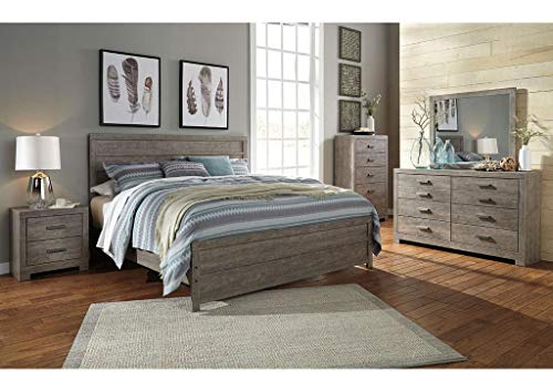 Ashley Furniture Culverbach Bedroom Set Including Queen Bed with Dresser and Mirror by Amazing Buys