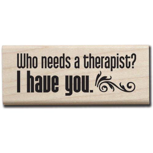 - Hampton Art 7 Gypsies Who Needs A Therapist Rubber Stamp