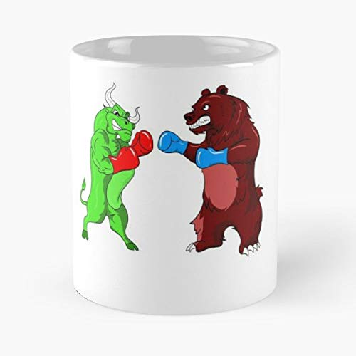 Stocks Stock Market Bull Bullish - Best Gift Ceramic Coffee Mugs