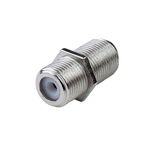 - LINKOMM 5-Pack F-Type Female to Female RG6 Coaxial Barrel Connector Coupler