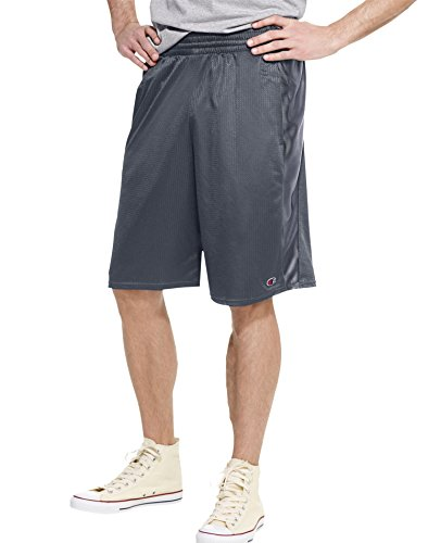 Champion Men's Crossover Short, Slate Gray, Medium