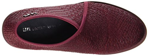 United Nude Women's Fold Base Loafers Rot (Burgundy) 1veZwiwn
