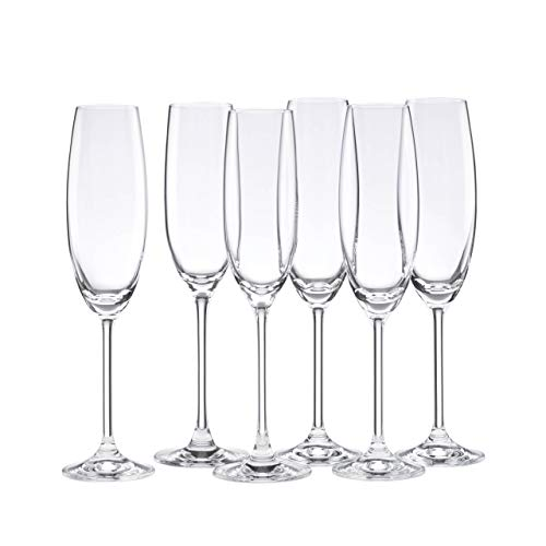 Lenox 845276 Tuscany Classics Champagne Flutes, Buy 4, Get 6 (Flutes Champagne Crystal)