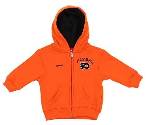 Philadelphia Flyers NHL Baby Boys Infant Pledge Full Zip Hoodie, Orange