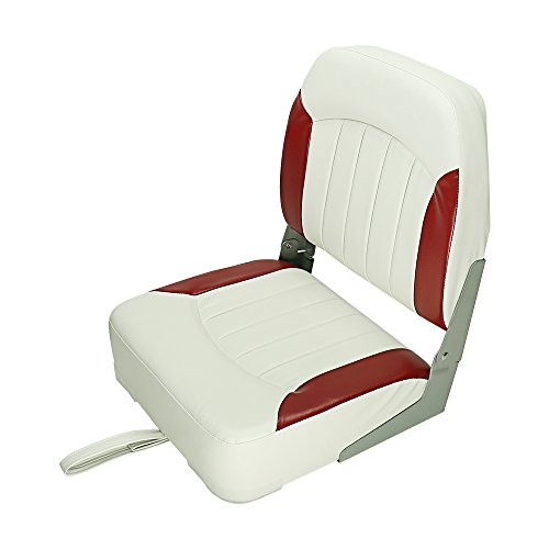 Seamander Boat Seat ((102S)-White/Red)