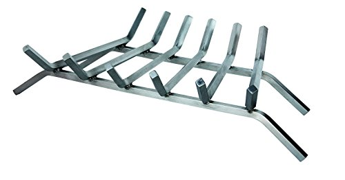 Uniflame, C-7727, 27 in. 6-Bar 304 Stainless Steel Bar Grate