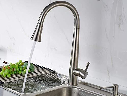 Decorry Herausziehen Küchenarmatur 304 Edelstahl Topf Mit Tap Alle Um Drehen Swivel 2-funktion Wasser Grifo Lavabo CS003