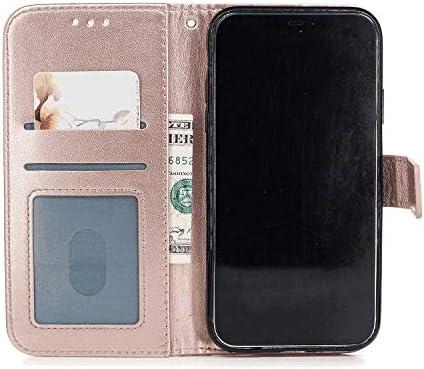 iPhone XR PUレザー ケース, 手帳型 ケース 本革 全面保護 ビジネス カバー収納 ポーチケース 財布 手帳型ケース iPhone アイフォン XR レザーケース